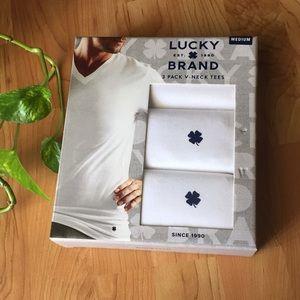 Lucky Brand V-Neck Tees